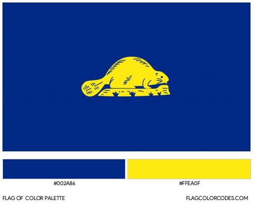 Oregon [Reverse] Flag Color Palette