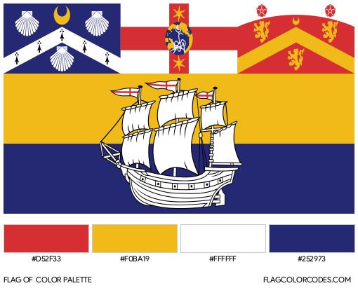 Sydney Flag Color Palette