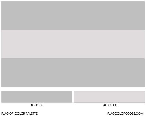 Cisgender Flag Color Palette