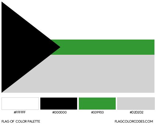 Demiromantic Flag Color Palette