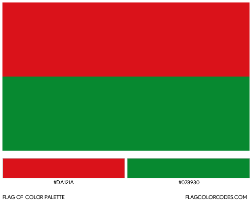 Arauca Flag Color Palette