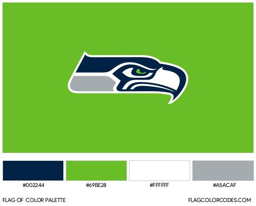 Seattle Seahawks Flag Color Palette