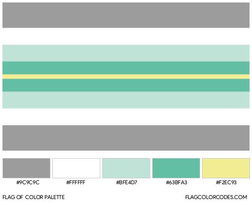 Paragender Flag Color Palette
