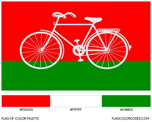 Samajwadi Party Flag Color Palette