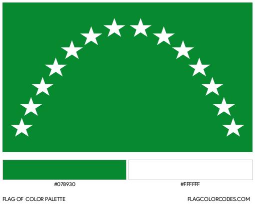 Risaralda Flag Color Palette