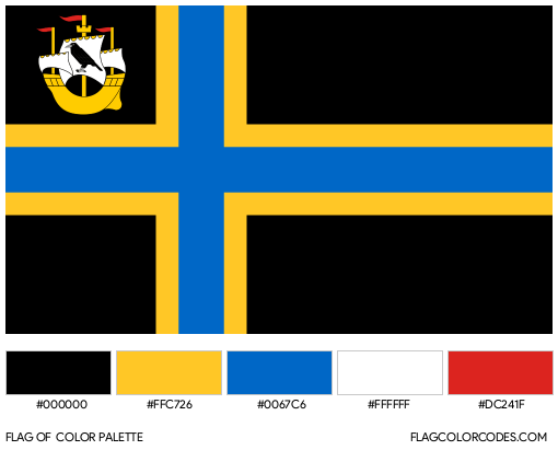Caithness Flag Color Palette
