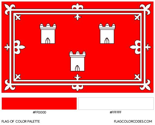 Aberdeen Flag Color Palette