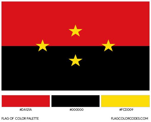 Norte de Santander Flag Color Palette