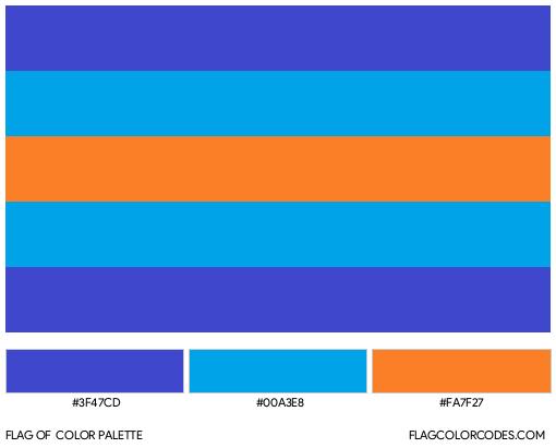 Multigender Flag Color Palette