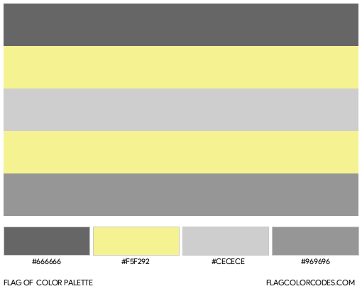 Perigender Flag Color Palette