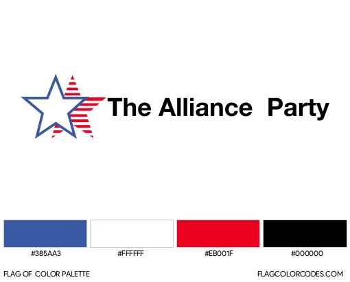 Alliance Party Flag Color Palette