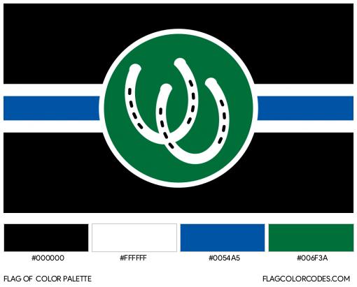 Pony Flag Color Palette