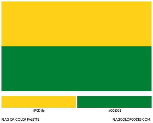 Vichada Flag Color Palette
