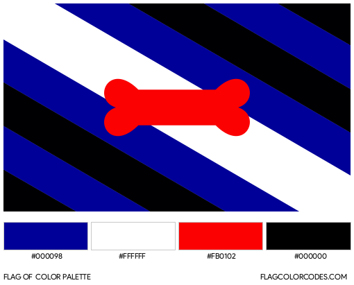 Puppy Play Flag Color Palette