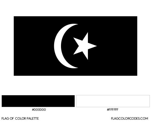 Terengganu Flag Color Palette