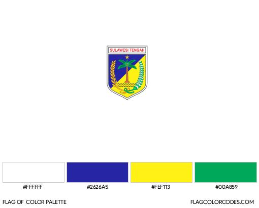 Central Sulawesi Flag Color Palette