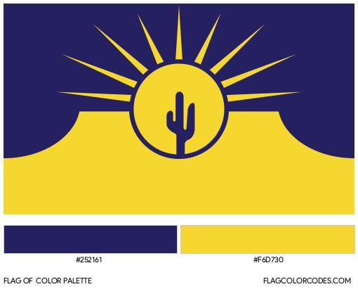 Mesa Flag Color Palette