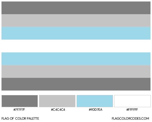 Demiboy Flag Color Palette