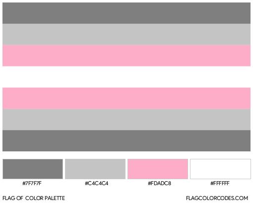 Demigirl Flag Color Palette