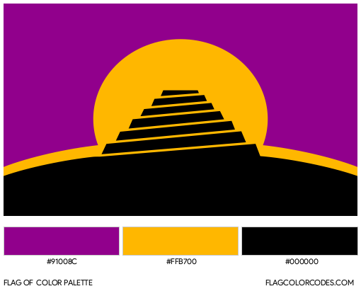 Conlang Flag Color Palette