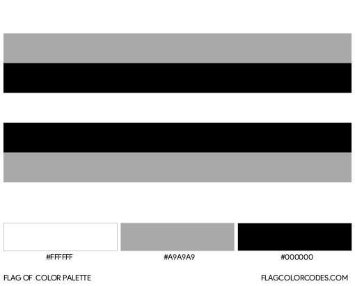 Allosexual Flag Color Palette