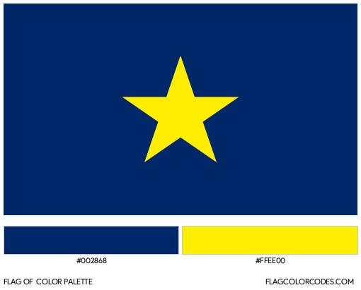 Burnet Flag Color Palette