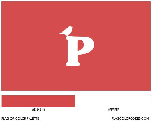 Vermont Progressive Party Flag Color Palette