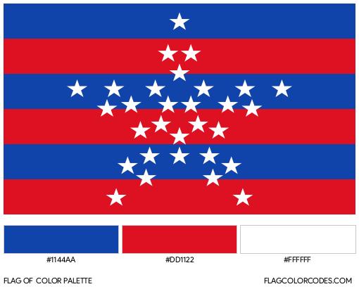 Magdalena Flag Color Palette