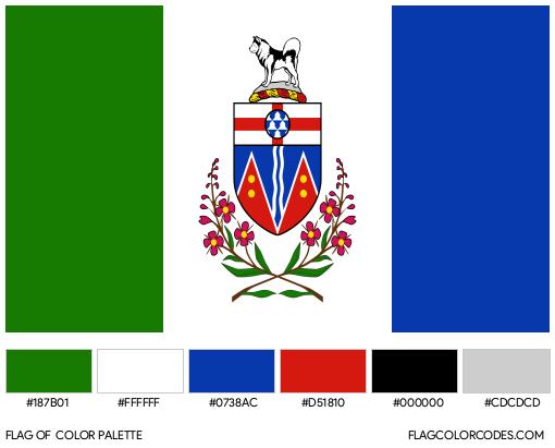 Yukon Flag Color Palette