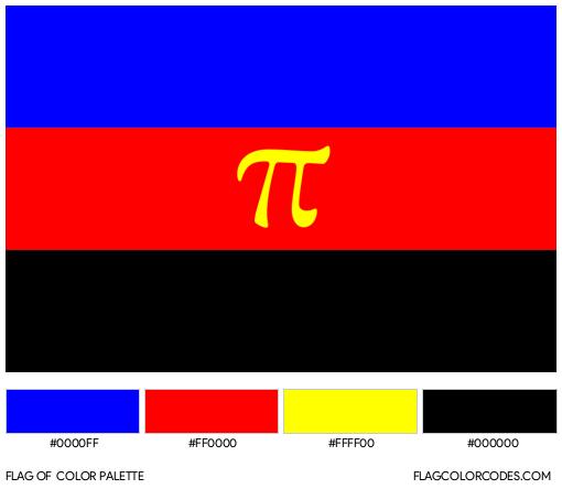 Polyamory Flag Color Palette