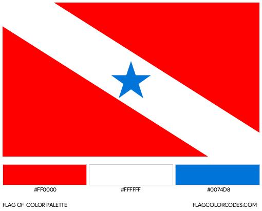 Pará Flag Color Palette