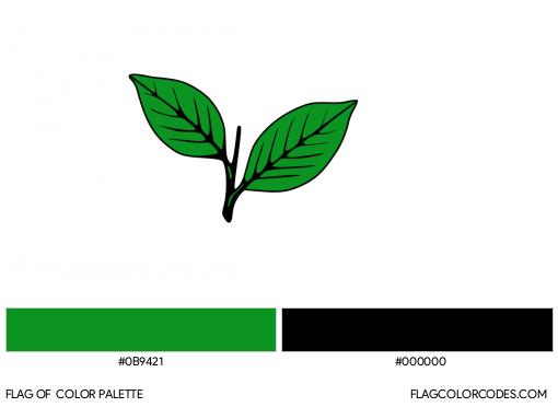 All India Anna Dravida Munnetra Kazhagam Flag Color Palette