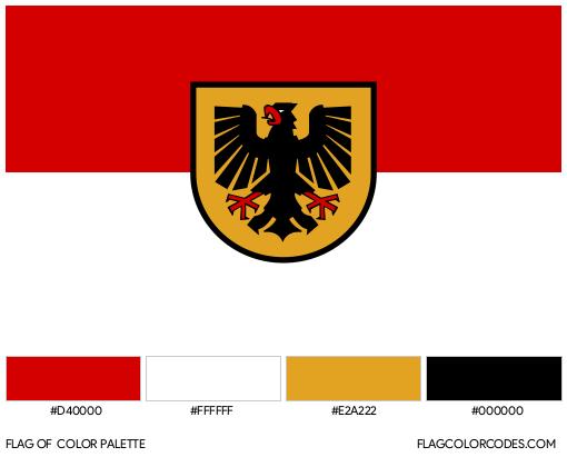 Dortmund Flag Color Palette