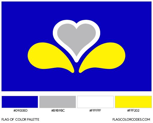 Brussels-Capital Region Flag Color Palette