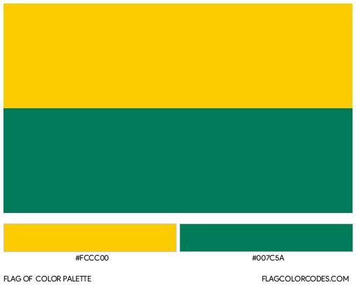 The Hague Flag Color Palette