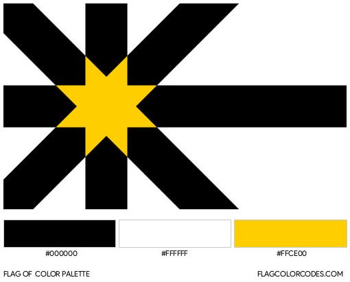 Sutherland Flag Color Palette