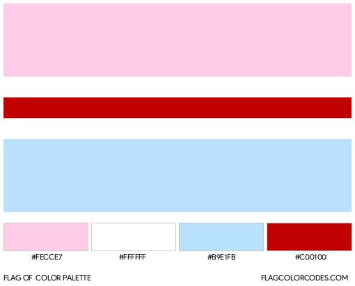 Hijra Flag Color Palette