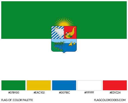 Sucre Flag Color Palette