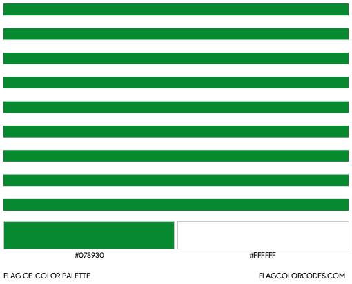 Meta Flag Color Palette