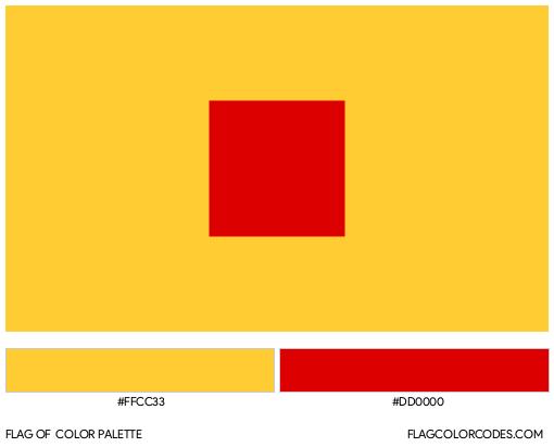 Ilkhanate Flag Color Palette