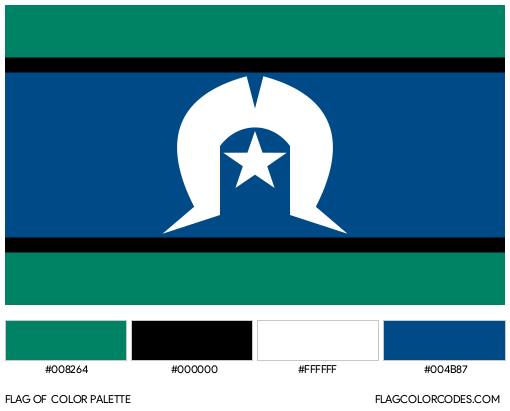 Torres Strait Islands Flag Color Palette