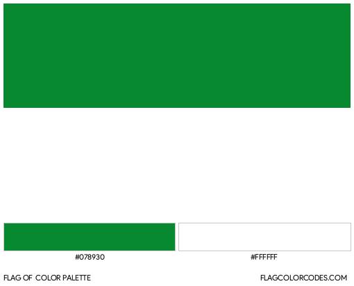 La Guajira Flag Color Palette