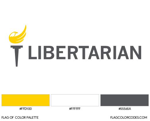 Libertarian Party Flag Color Palette