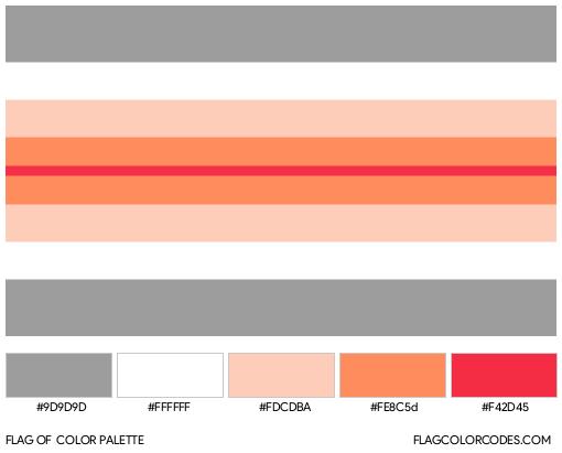 Paragirl Flag Color Palette