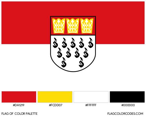 Cologne Flag Color Palette