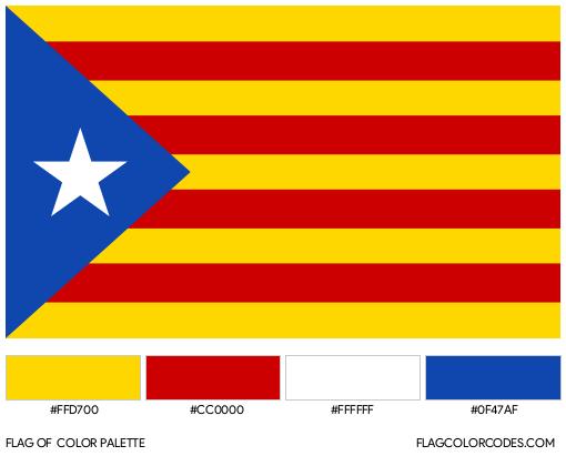 Estelada Flag Color Palette