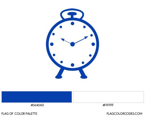 Nationalist Congress Party Flag Color Palette