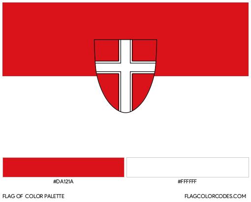 Vienna Flag Color Palette