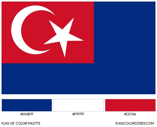 Johor Flag Color Palette
