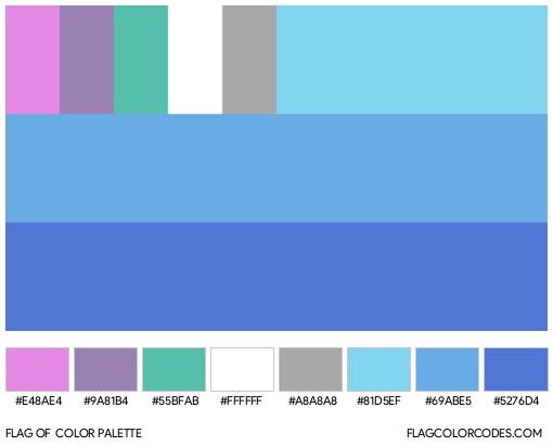 Boyflux (Alternate #2) Flag Color Palette